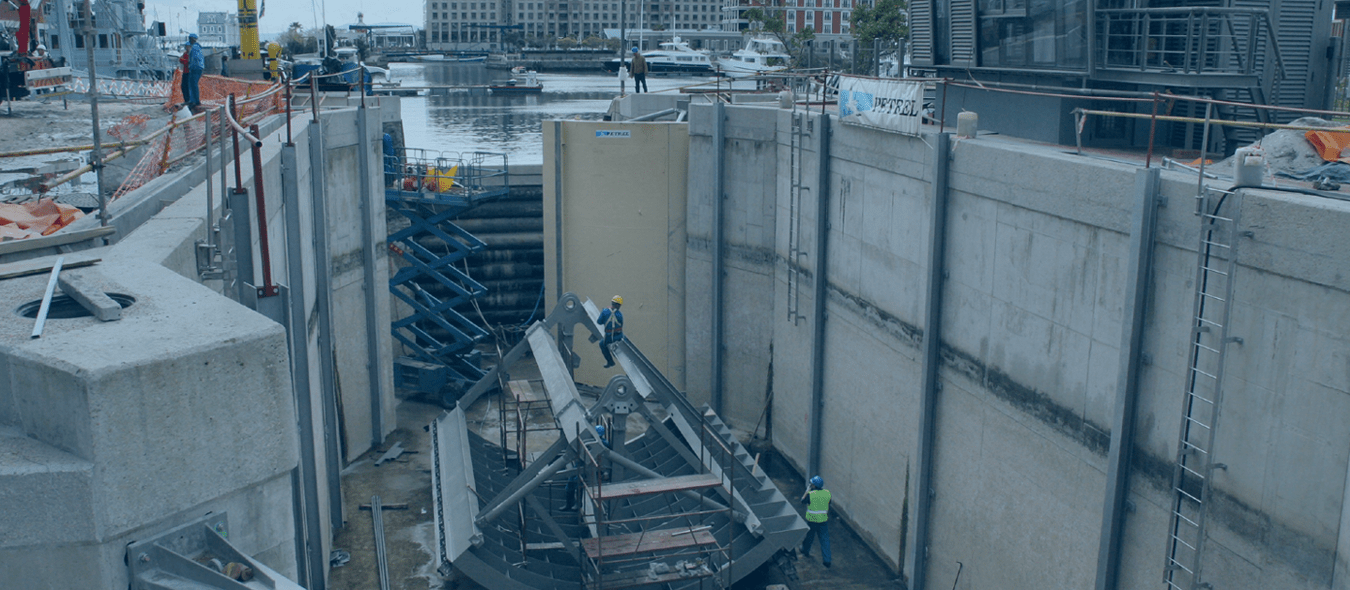 Lock Gates for V&A Waterfront Canal